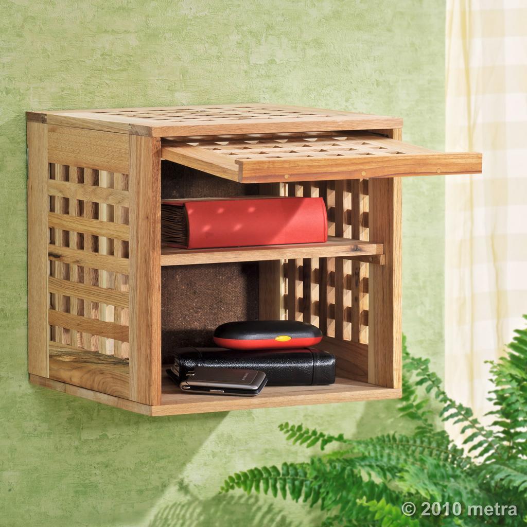 Wandschrank, Hängeschrank, Regal Bücher Walnuss Holz | eBay | {Hängeschrank holz 83}