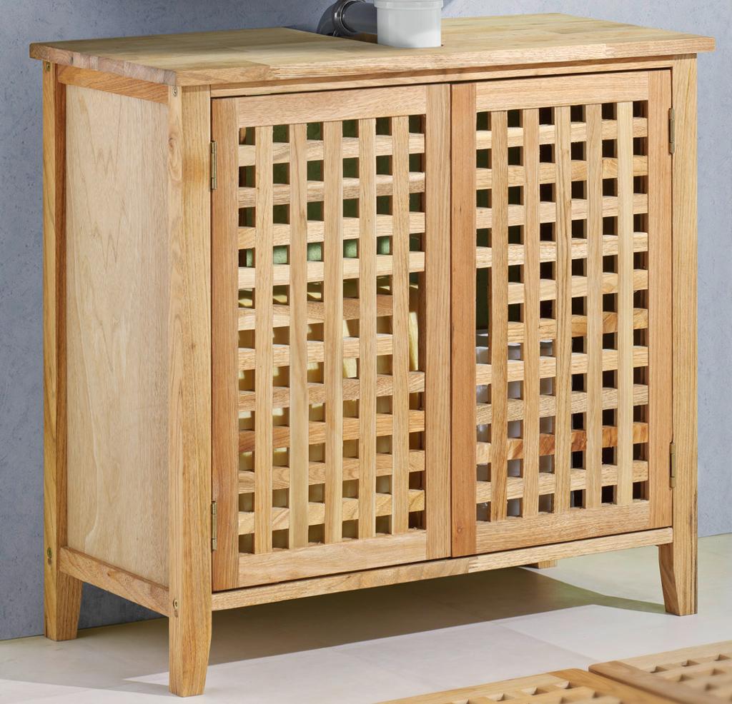 waschbeckenunterschrank waschbeckenschrank walnuss ebay. Black Bedroom Furniture Sets. Home Design Ideas