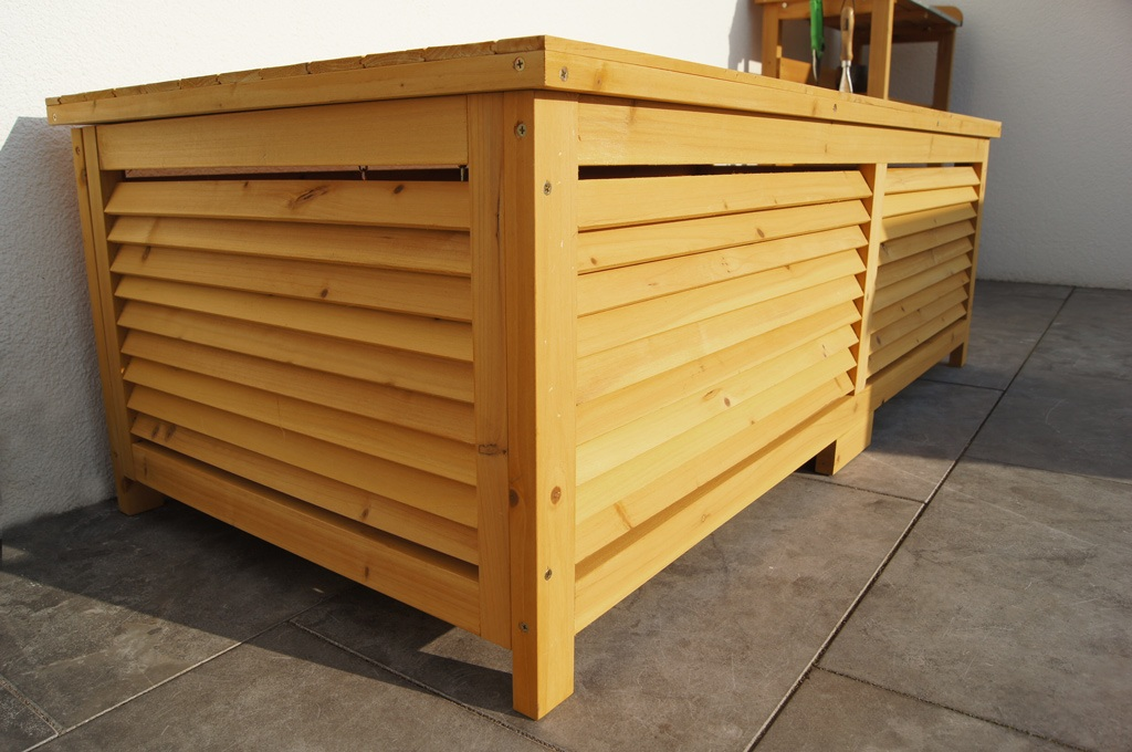 holz gartentruhe holztruhe auflagenbox kissenbox gartenbox box auflagen truhe ebay. Black Bedroom Furniture Sets. Home Design Ideas