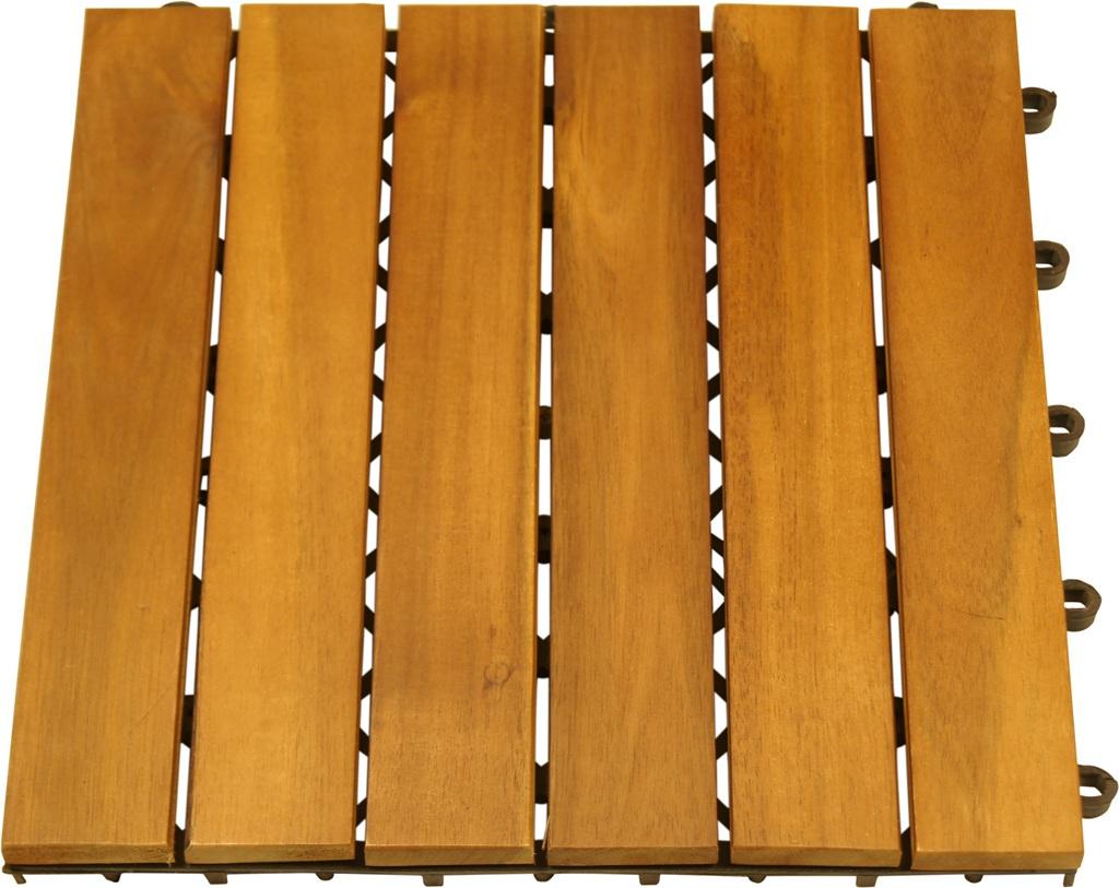 holzfliese aus akazienholz fliesen terassenfliese ge lt impr gniert 10er posten. Black Bedroom Furniture Sets. Home Design Ideas