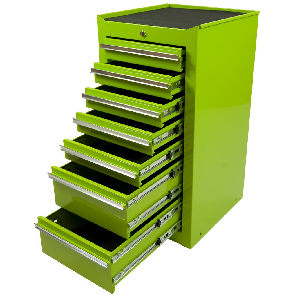 Werkzeugschrank metall  Werkzeugschrank mit 7 Schubladen, grün, Schubladenschrank ...