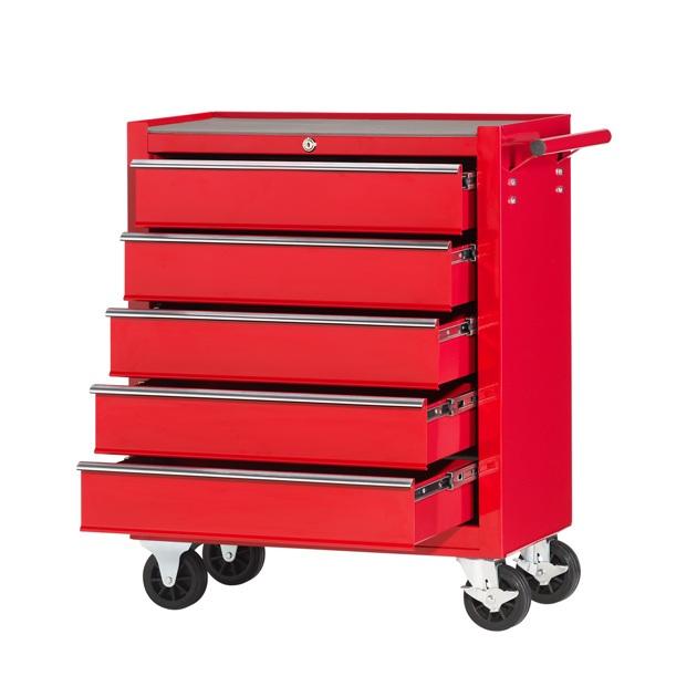werkstattwagen 5 schubladen leichtbau werkzeugwagen f r. Black Bedroom Furniture Sets. Home Design Ideas