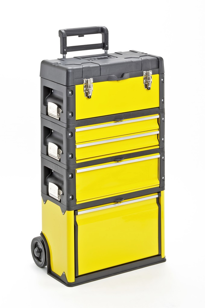 bo te outils trolley outil trolley m tal plastique atelier chariot trolley ebay. Black Bedroom Furniture Sets. Home Design Ideas