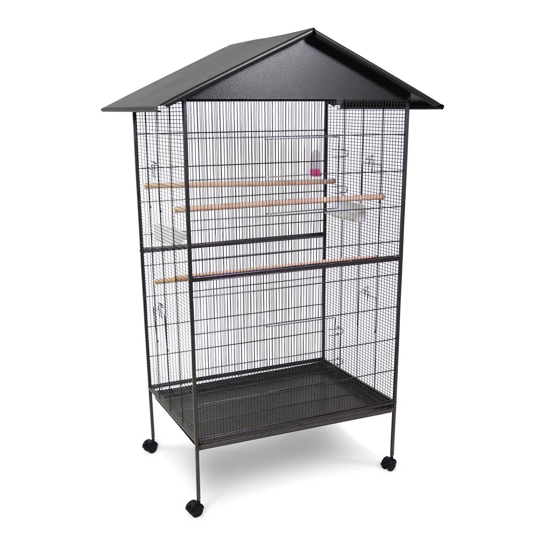 vogelk fig vogelvoliere aus metall k fig voliere gro es vogelhaus wellensittich ebay. Black Bedroom Furniture Sets. Home Design Ideas